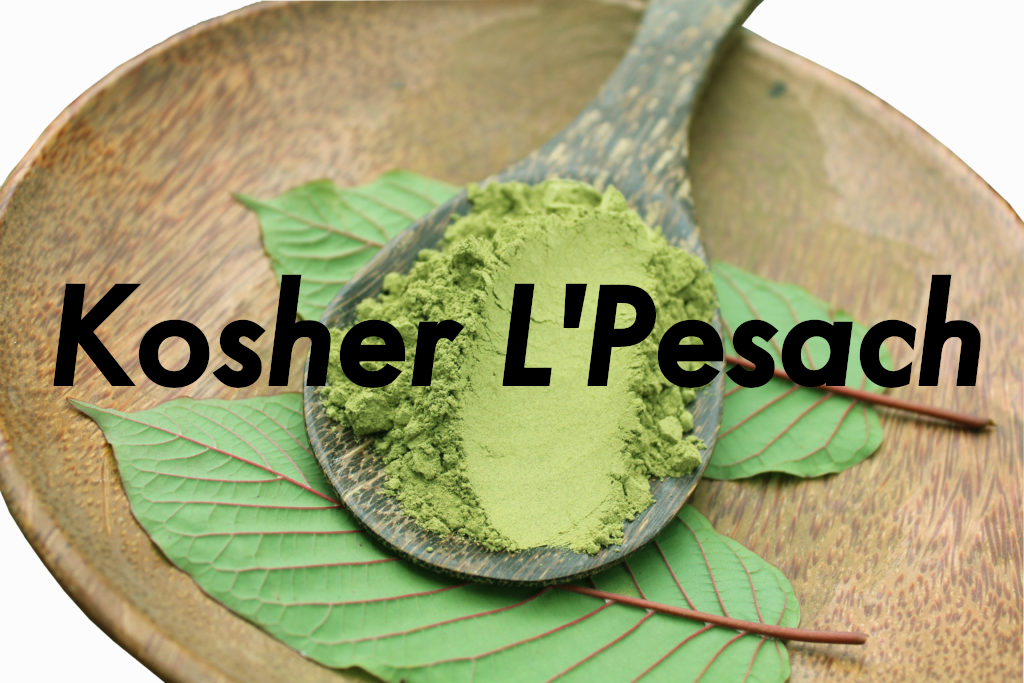 Kratom Is Kosher For Passover