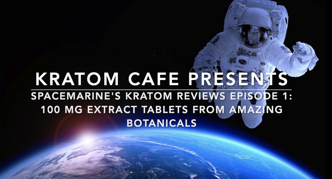 Amazing Botanicals 100 mg Kratom Extract Tablets Review, Video Of Experience Inside!