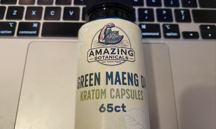 Green Maeng Da Kratom Capsules From Amazing Botanicals Review
