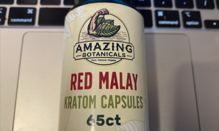 Red Malay Kratom Capsules From Amazing Botanicals Review