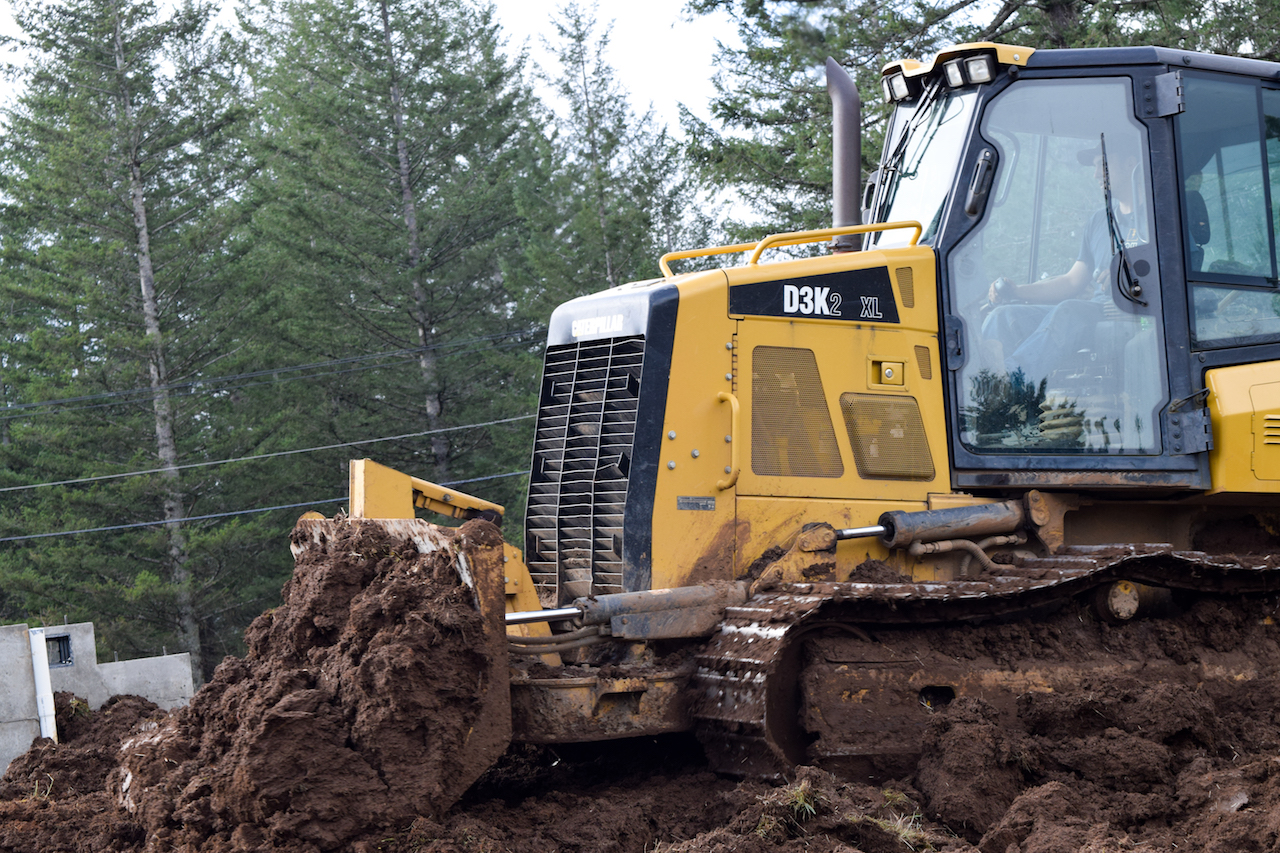 Breaking Ground is an excavation contractor moving earth