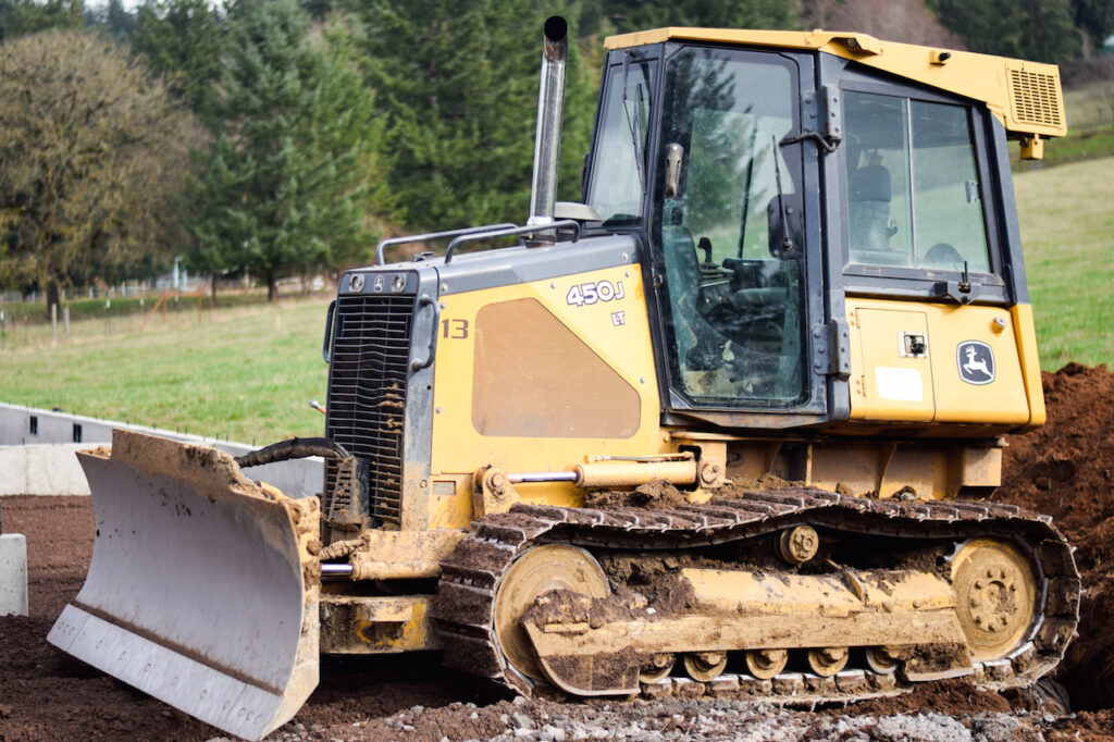 Landscape Grading for residential excavation project