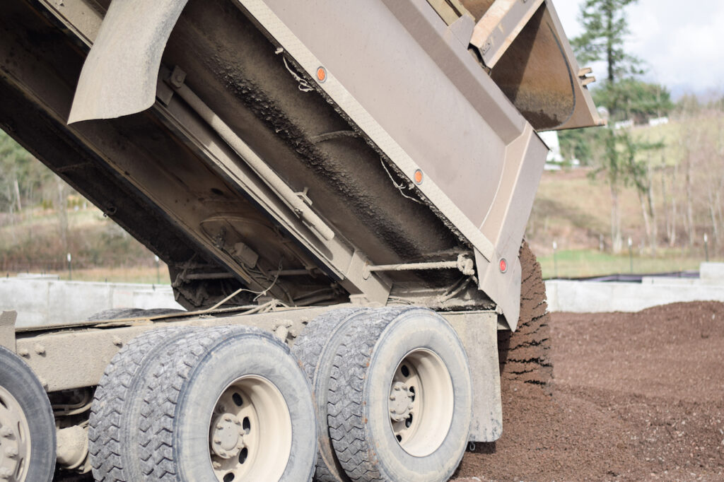 Soil Delivery for a Site Preparation project