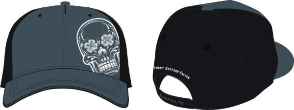 Black Charcoal Hat
