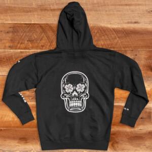LBS Black Pullover Hoodie Back