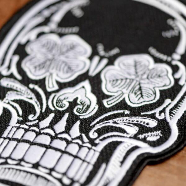 LBS Biker Patch Kit Skull