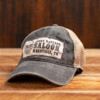 Black on Tan LBS Hat Front