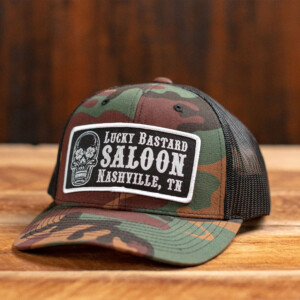 Camo LBS Hat Front