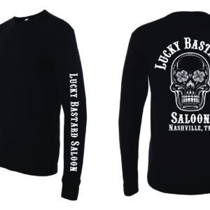 Black Long Sleeve Thermal Shirt