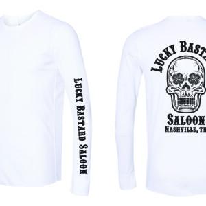 White Long Sleeve Thermal Shirt