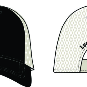 Black Tan Hat