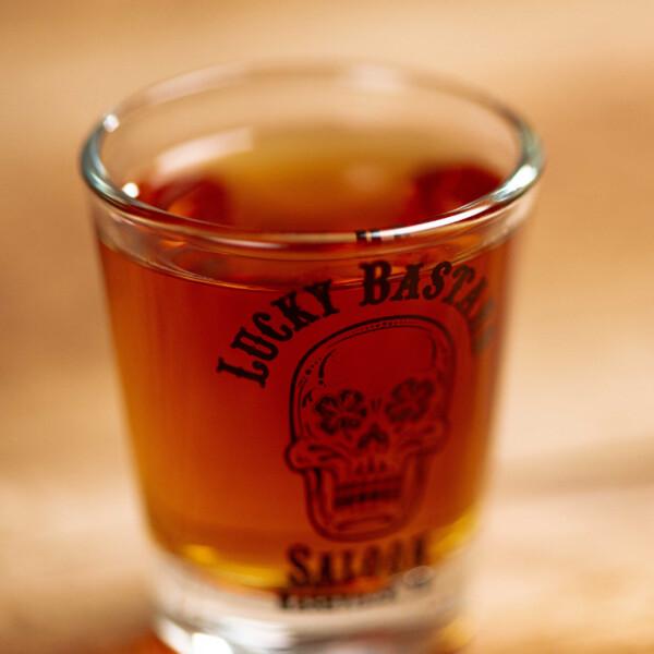 LBS Shot Glass Full