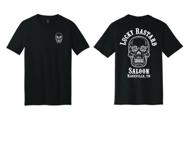 Black V Neck T-Shirt