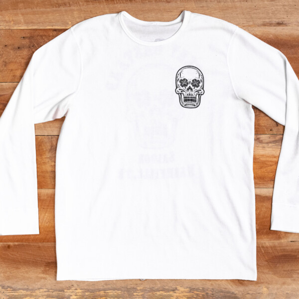 LBS White Thermal Shirt Front