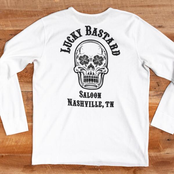 LBS White Thermal Shirt Back