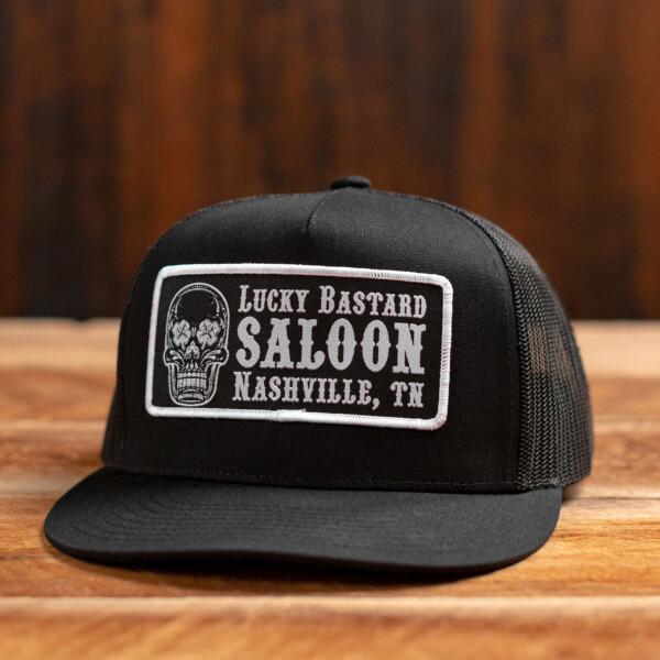 Black on Black LBS Hat Front