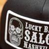 Black on Black LBS Hat Patch