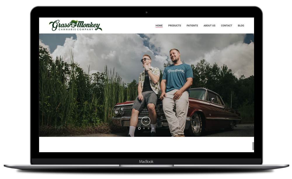 Grass Monkey Website