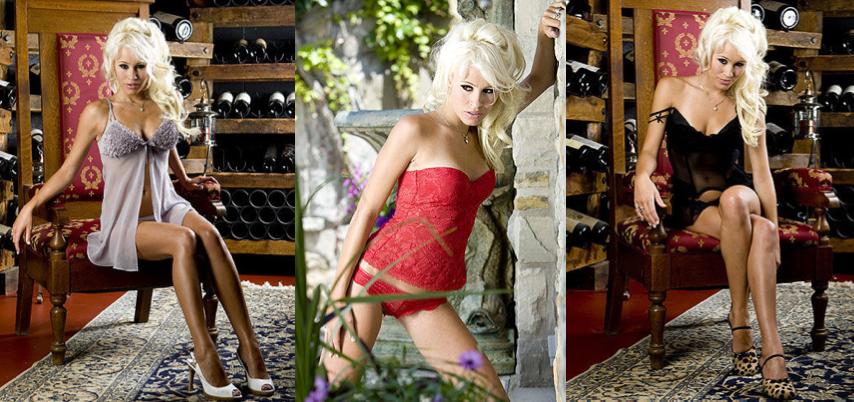 Photo Showing International Model Theresa Longo