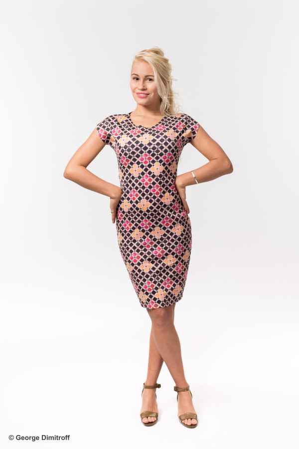 Theresa Animapop-Dress