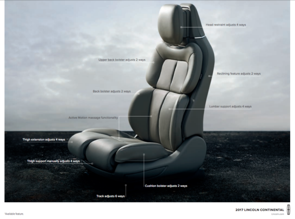 Lincoln-Seats-Comfort