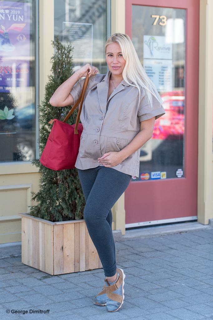 Pregnant Theresa Longo