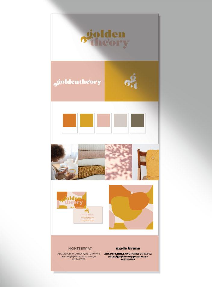 semi custom golden style sheet