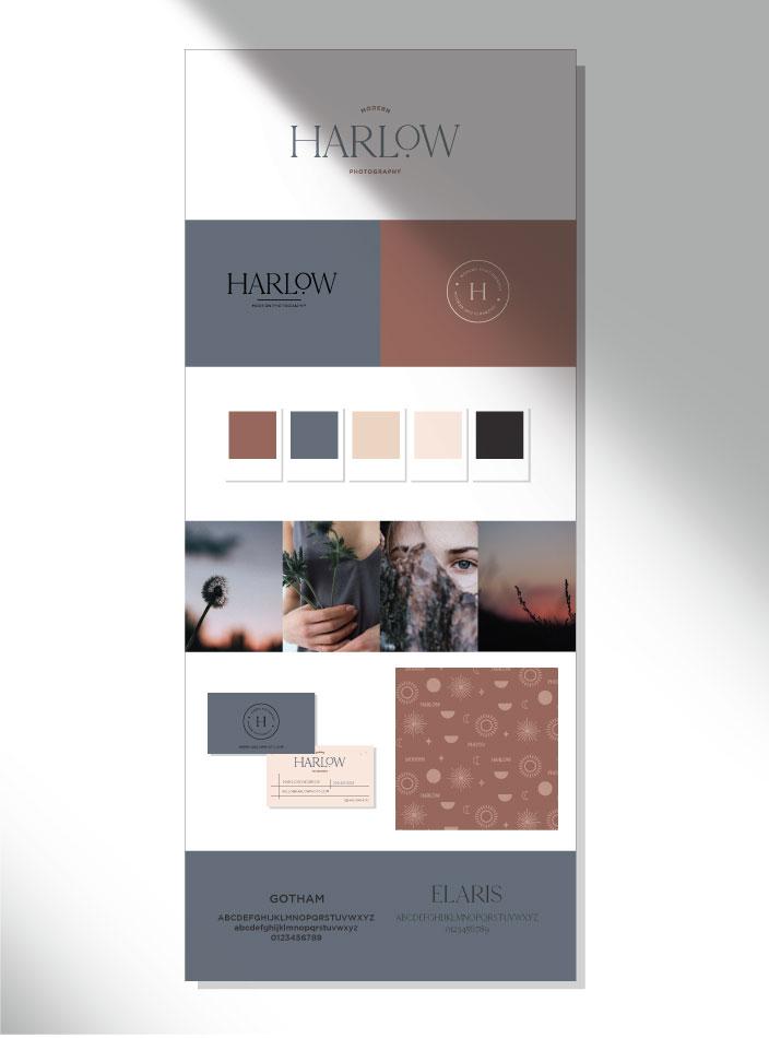 semi custom harlow style sheet