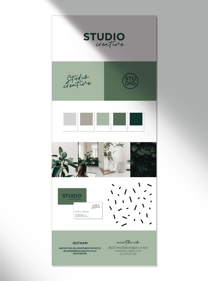 semi custom studio style sheet