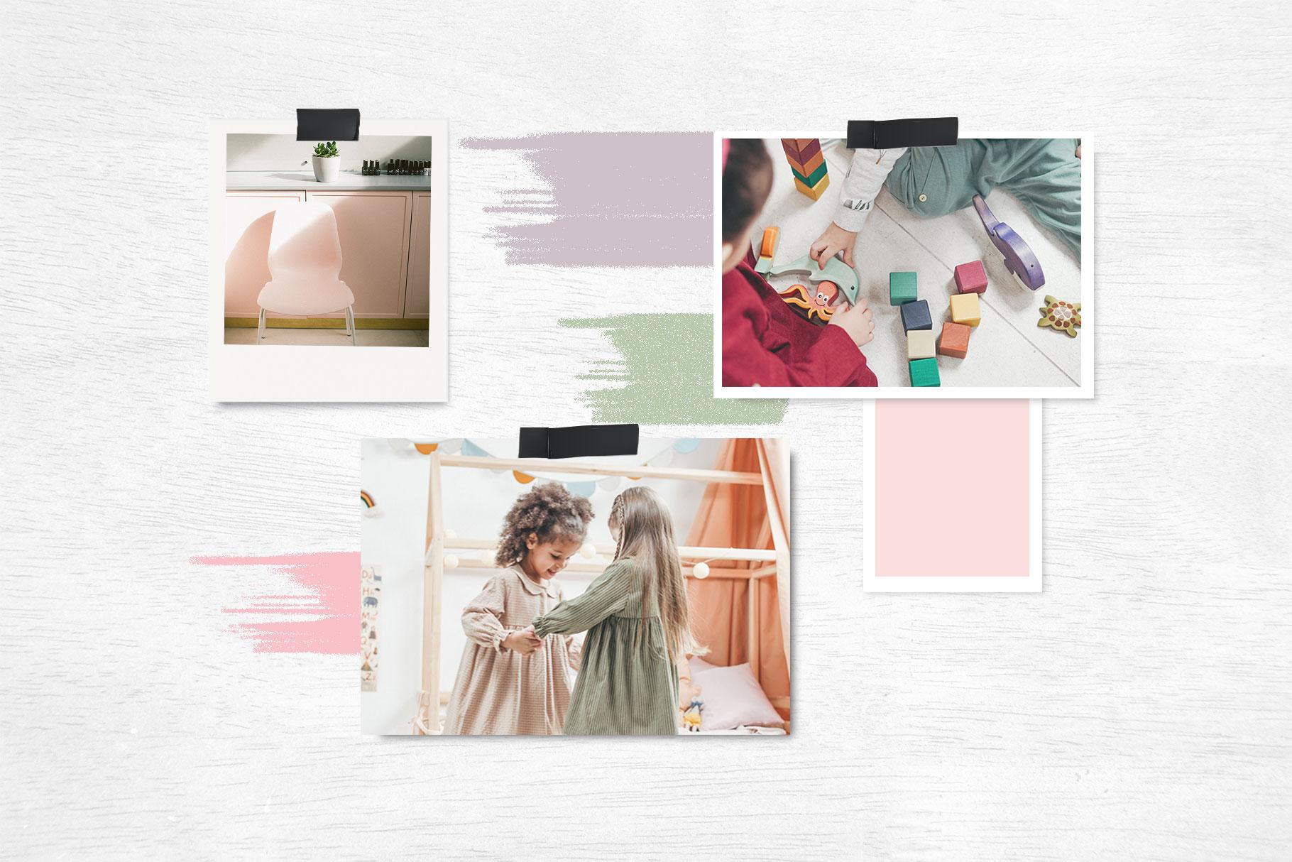custom brand design cm moodboard