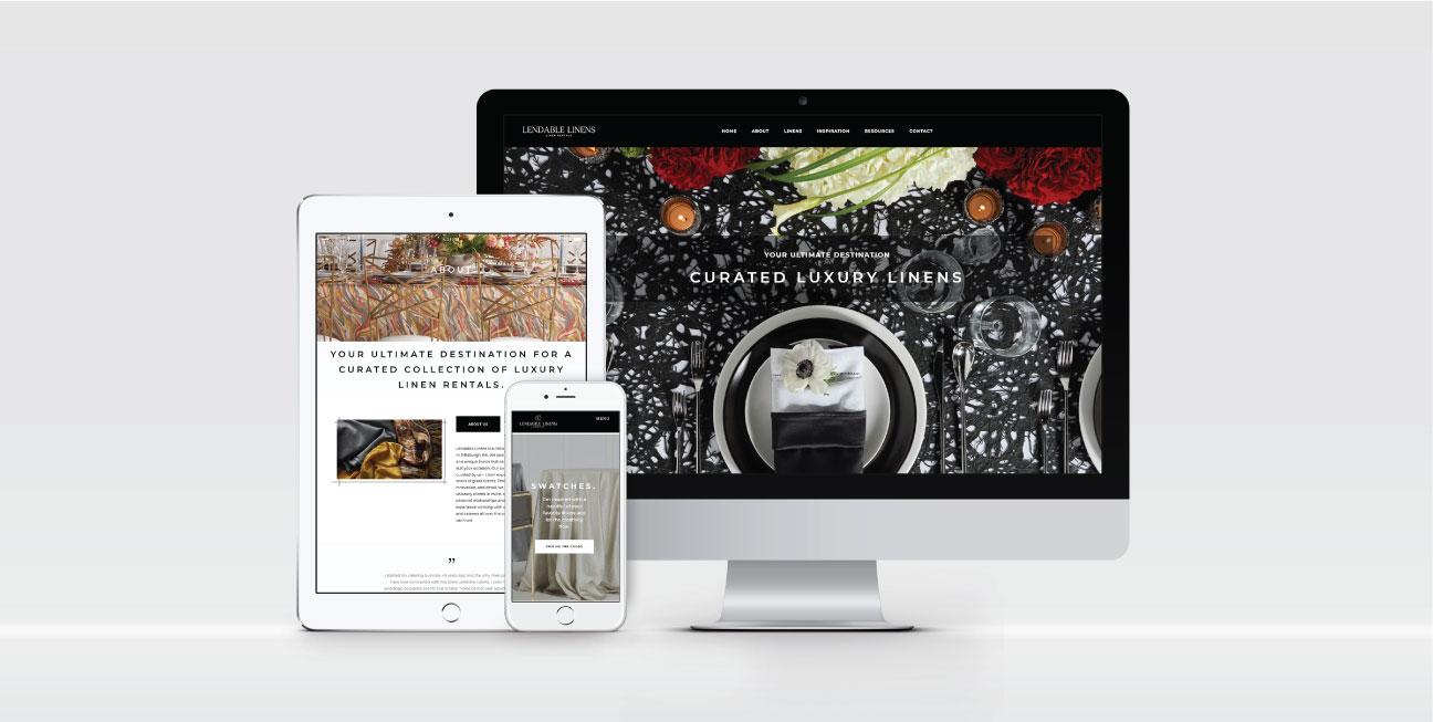 custom brand design lendable website