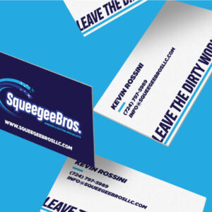 custom brand design business cards
