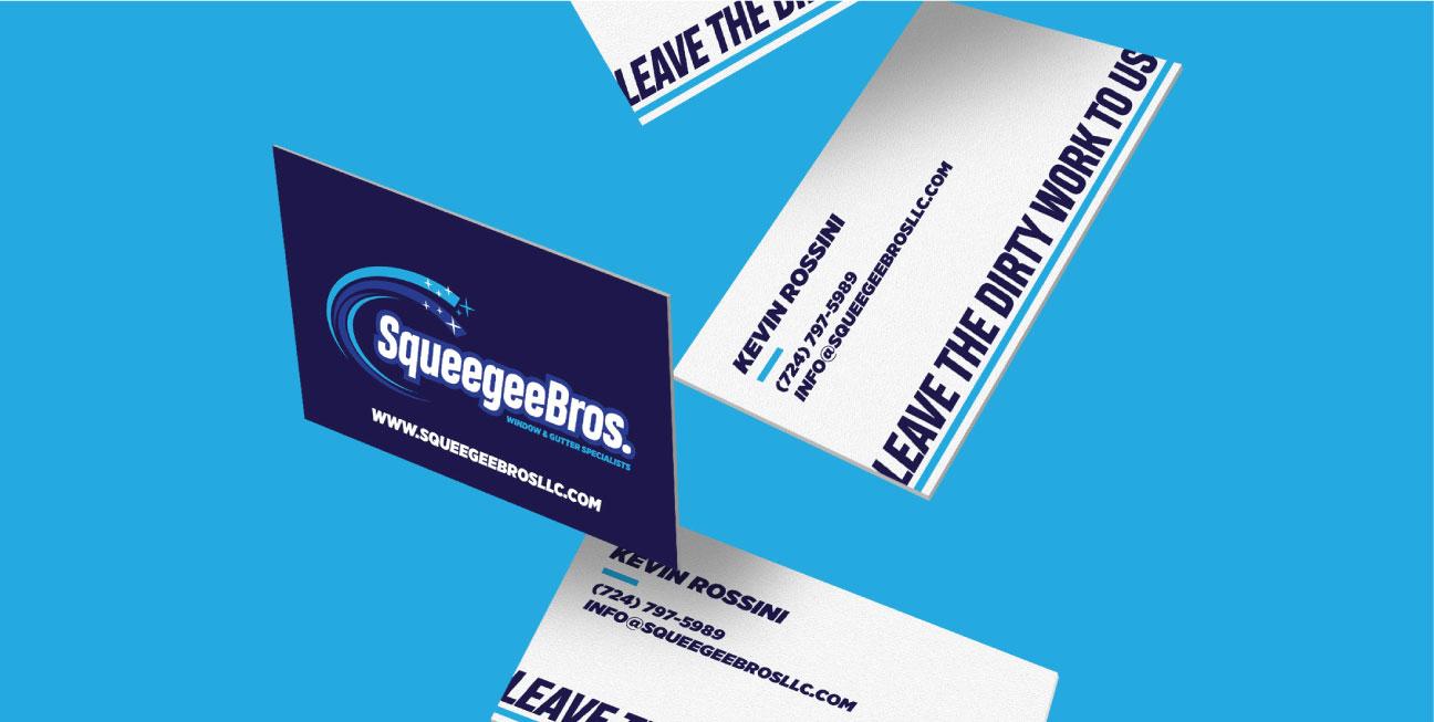 custom brand design business cards
