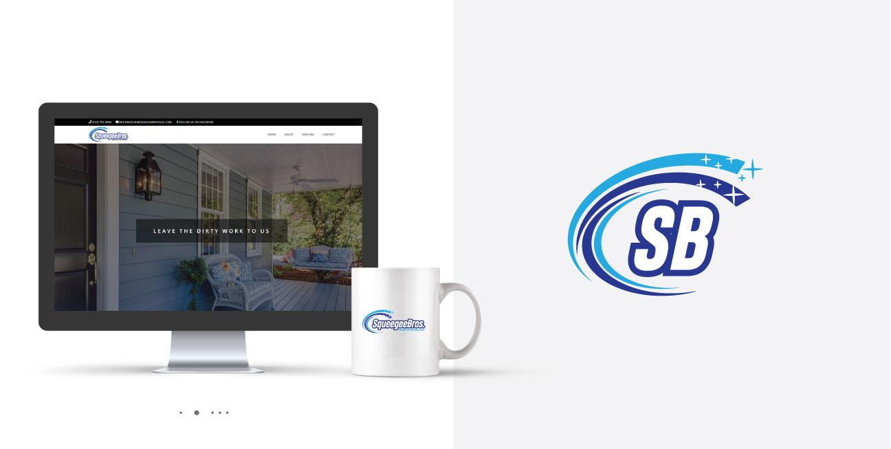 custom brand design website