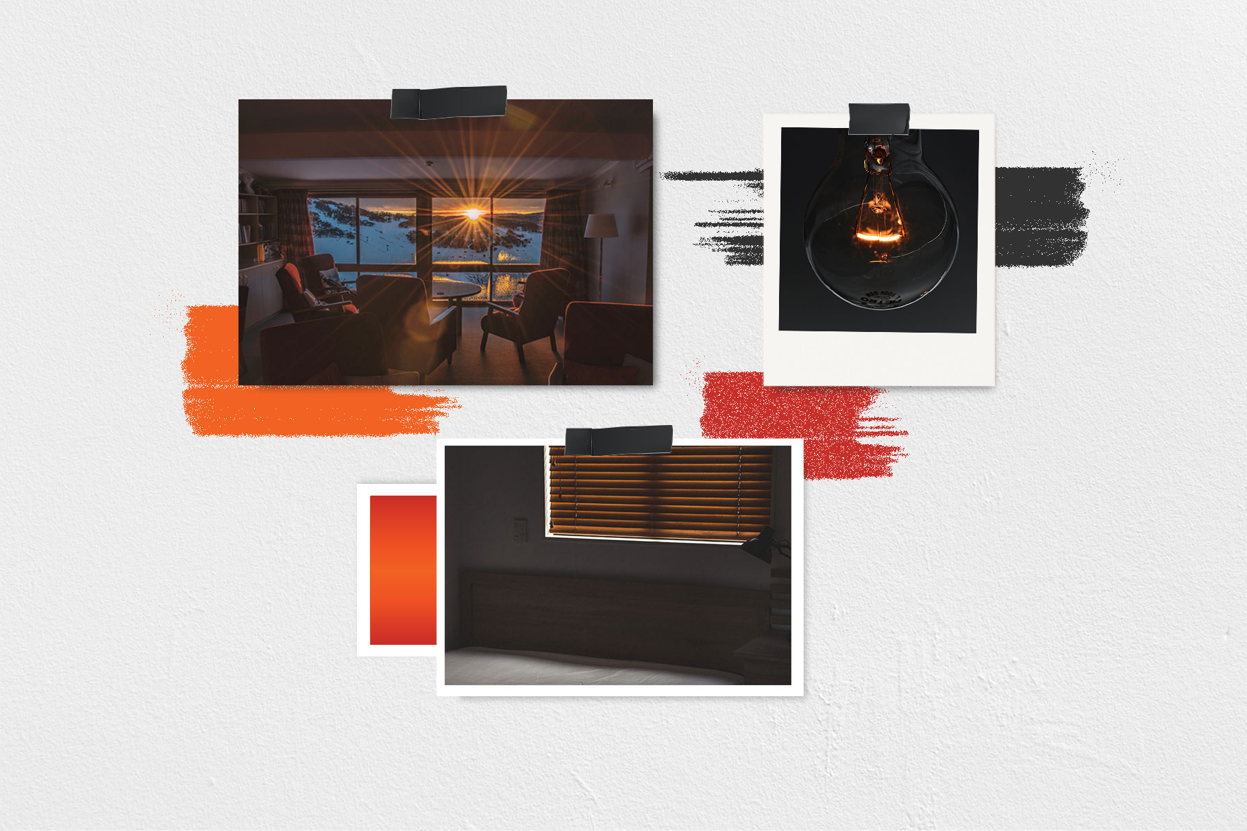custom brand design square one moodboard