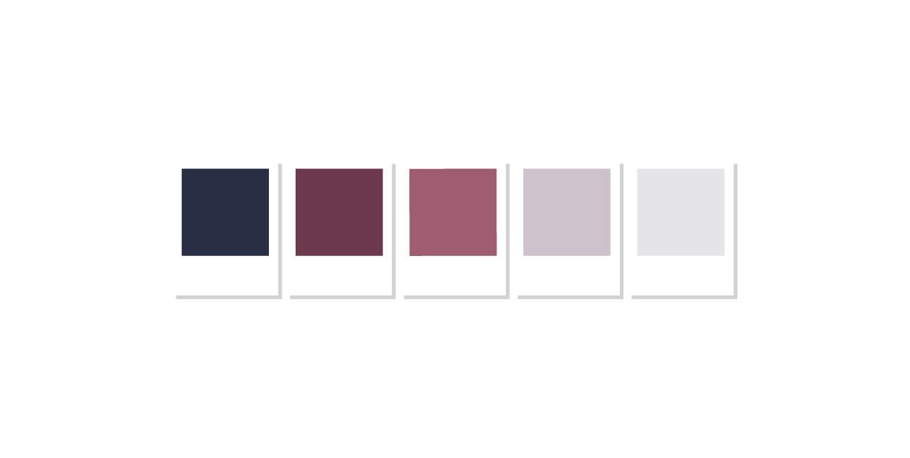 custom brand design weiblingers color pallet