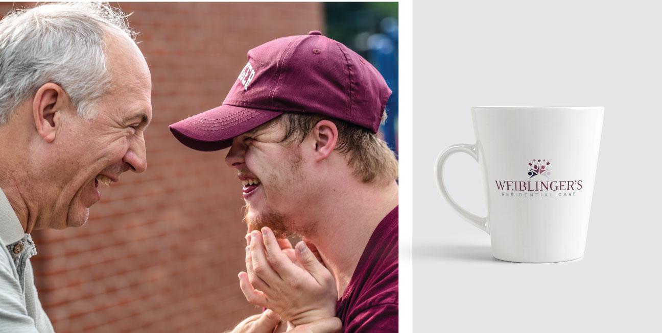 custom brand design weiblingers mug