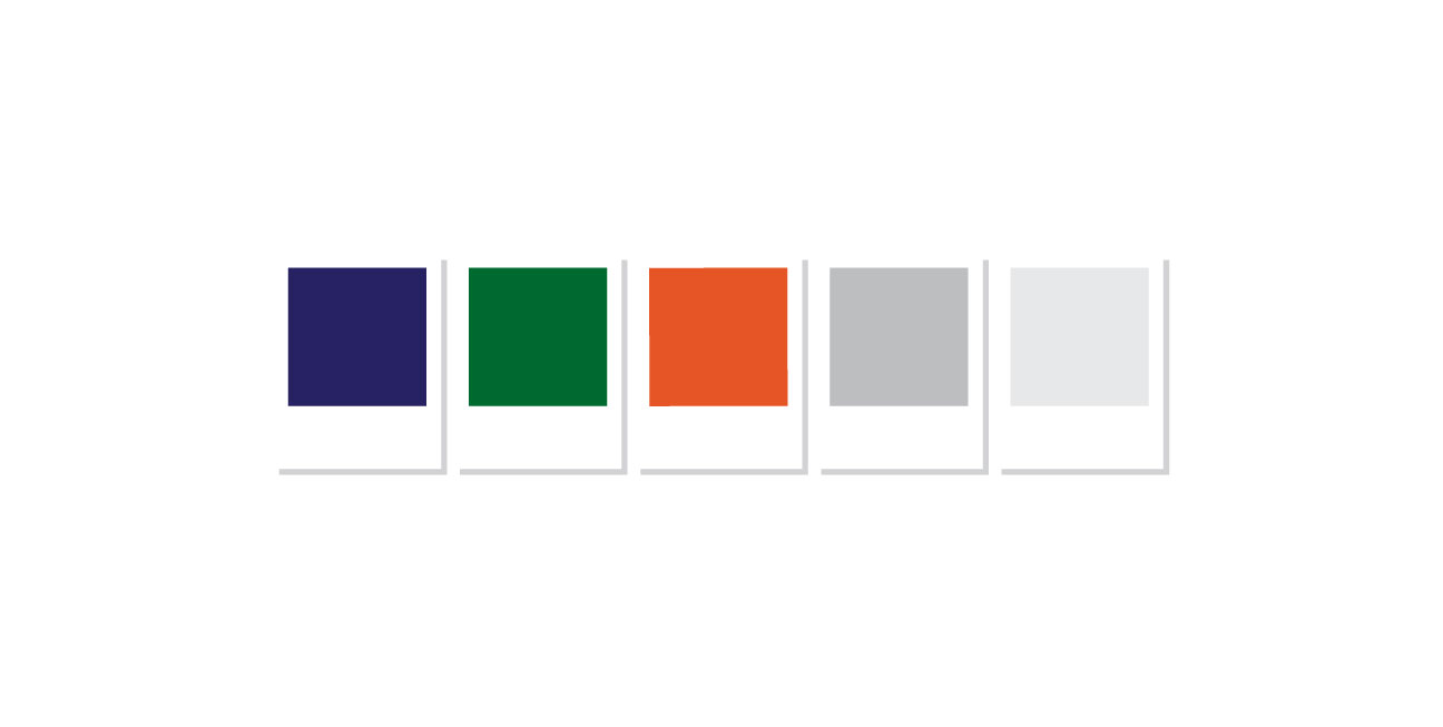 custom brand design chart color pallet