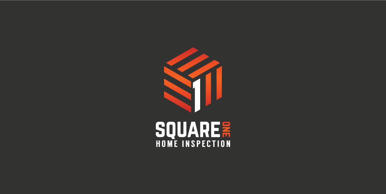 custom brand design square one primary logo