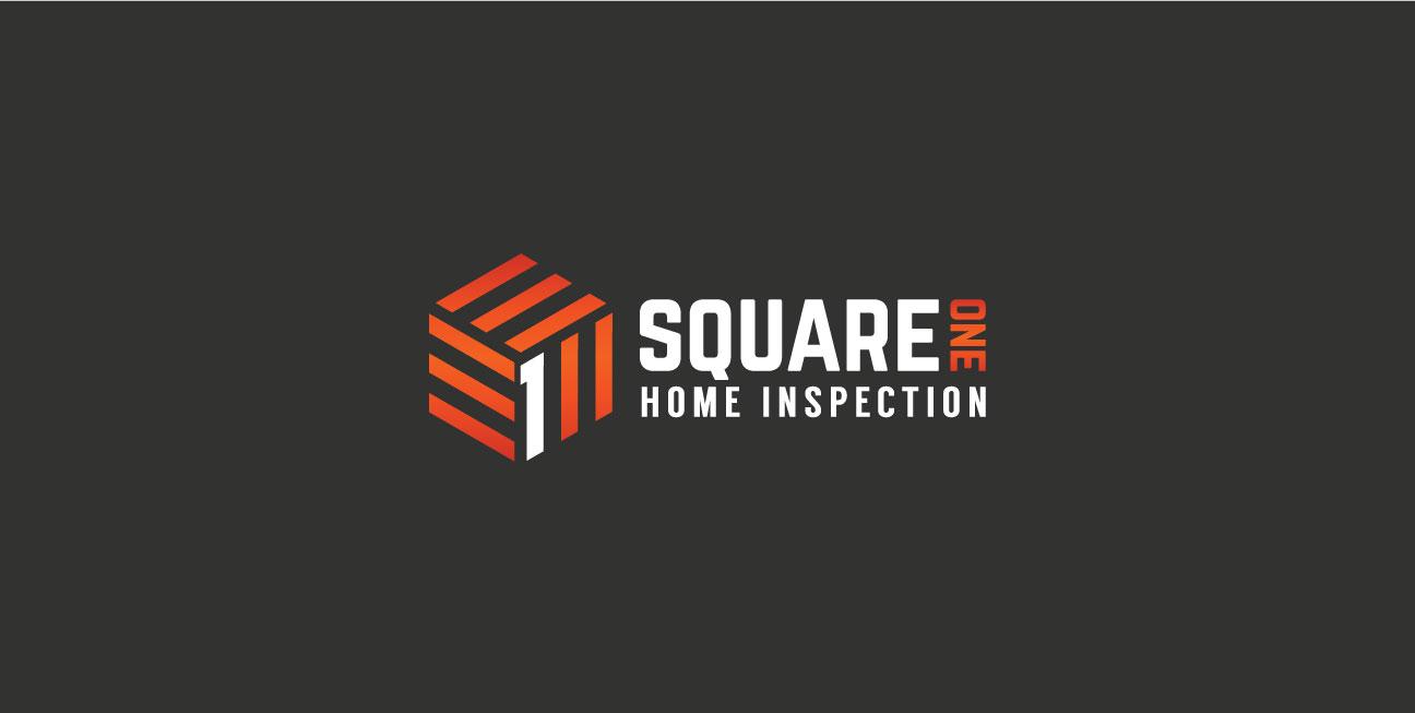 custom brand design square one secondary logo
