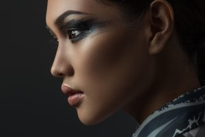 Creative art makeup
