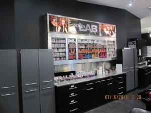 Redken lab at Montana Academy of Salons