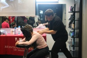 massage course at the Montana Academy of Salons
