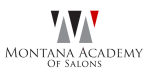 Montana Academy of Salons 10-Year Logo