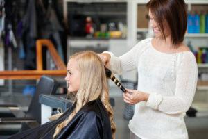 hair stylist giving back