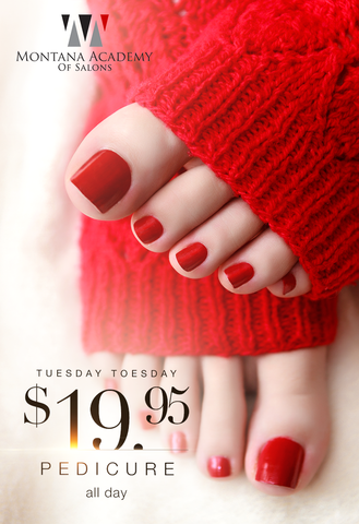 Tuesday Toesday special, red nails in red leggings