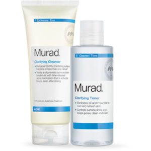 Murad cleanser and toner