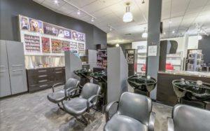 salon hair washing stations