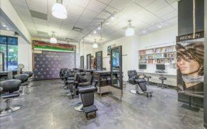 salon work stations