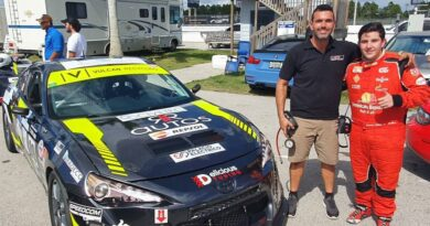 Jimmy Llibre gana el primer lugar en el Palm Beach International Raceway